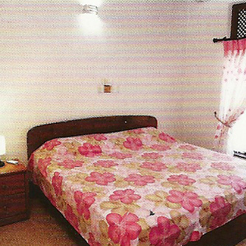 """Schlafzimmer 1 der Ferienwohnung """"Home Maria"""""""